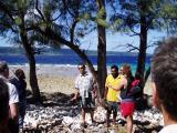 Speach at hat Island