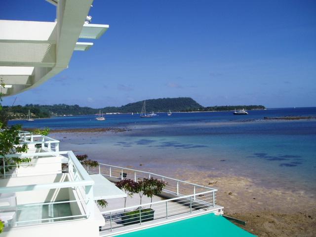 balcon de lhotel jour 1- bon départ!