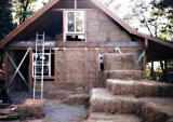 My Straw Bale House - construction photos