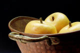 Apples in a Copper Bowl
