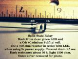 Solid state relay.