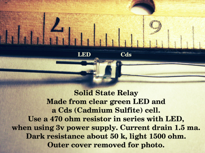 Solid state relay. (Low Power)