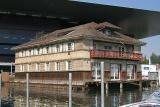 Ruder-Clubhaus vor dem KKL Luzern