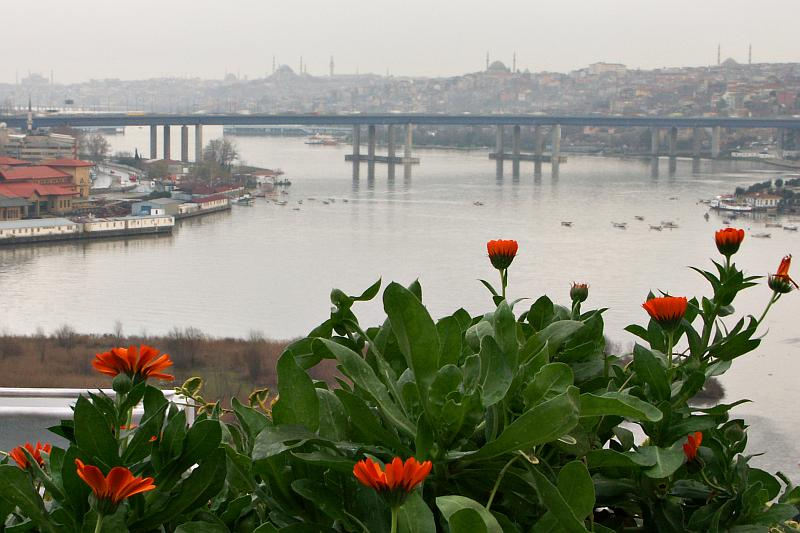 View of the Golden Horn from Eyup