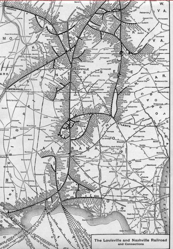 The Louisville and Nashville Railroad and Connections