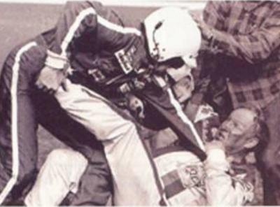 Bobby Allison and  Cale Yarborough Daytona 500 1978