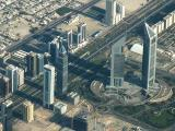 Emirates Towers and U.P. Tower, Sheikh Zayed Road