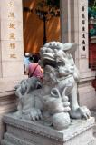 Lion guardian, Wong Tai Sin Temple