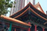 Temple roof, Wong Tai Sin Temple