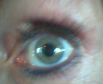 ....signs of intelligent life?  (my eye from cell phone camera)