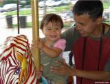 3 July 2003 carousel with uncle cesar