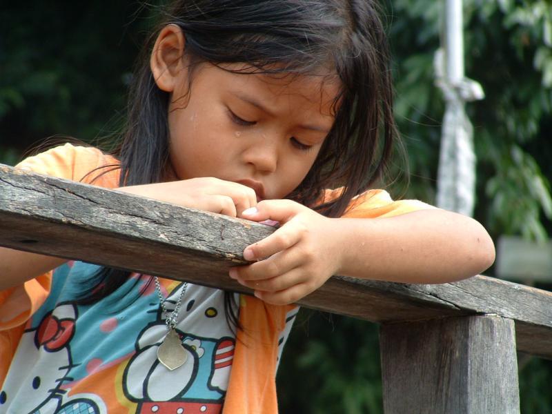 Thailand/unhappy child