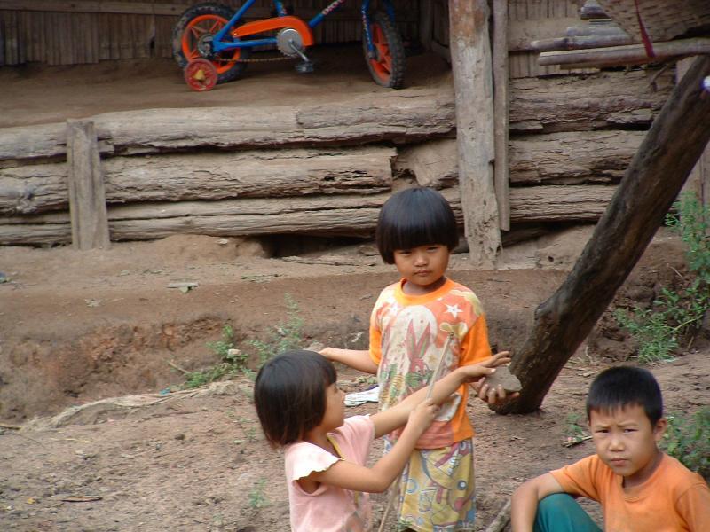 kids at play Thailand