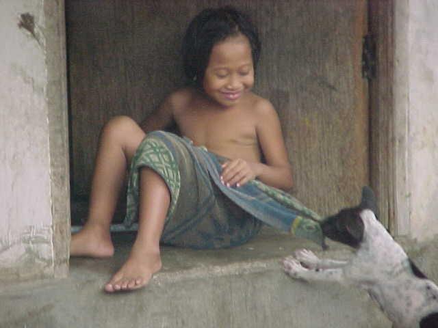 childdog near Bali