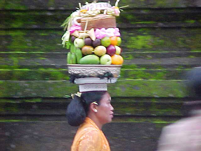 Bali Temple Offerings