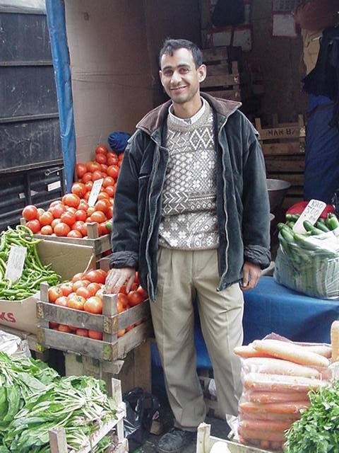 FruitVendor in Istanbul