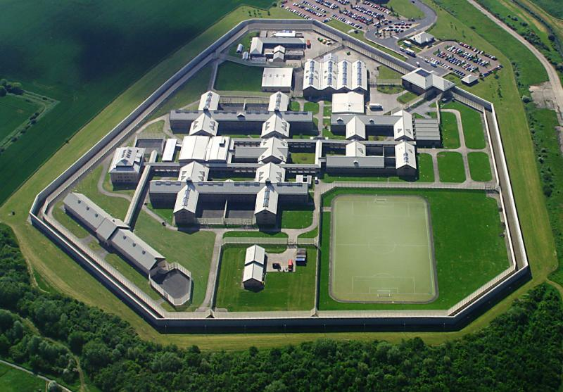 A prison in North England
