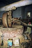 Moulin pour écraser les graines de sésame