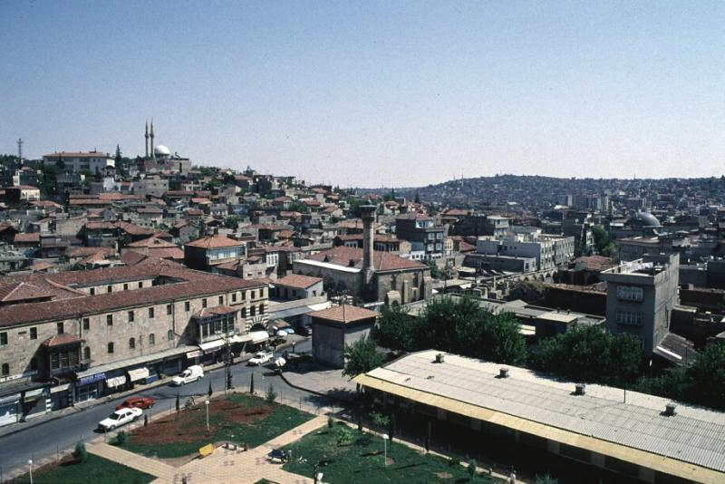 Gaziantep from castle hill