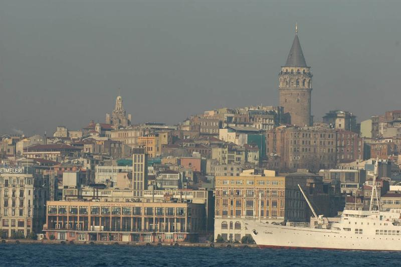 Galata from Bosporus ferry