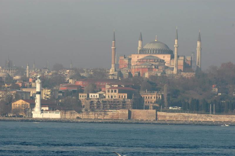 Aya Sofia from Bosporus ferry