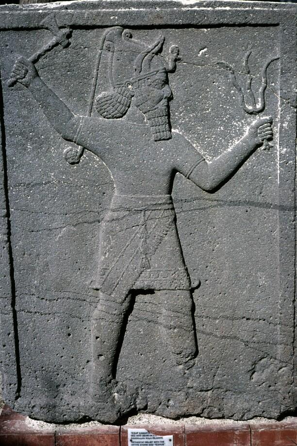 Gaziantep museum Hittit god
