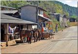 Ban Luang village near Doi Angkhan