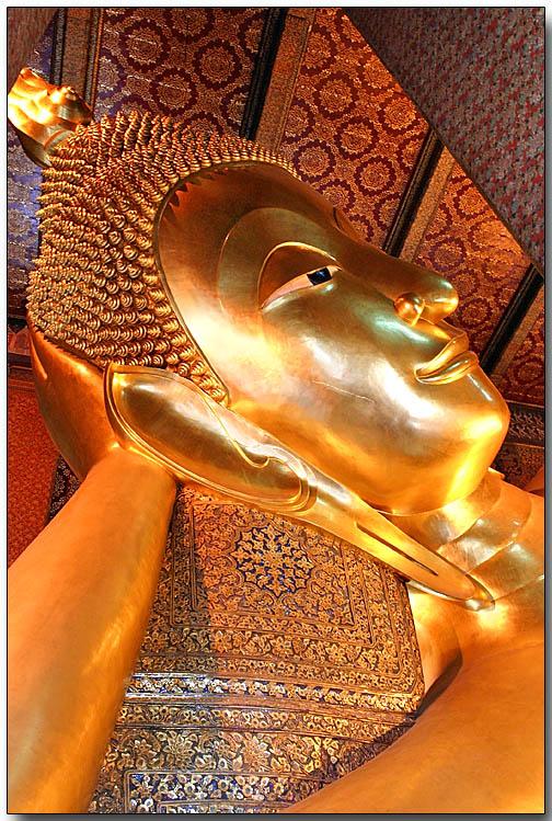 Reclining Buddha - Wat Pho, Bangkok