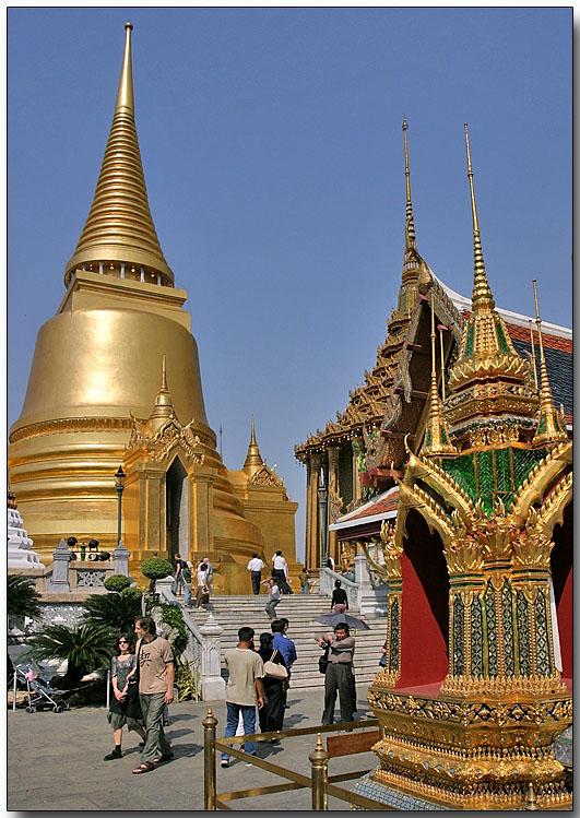 Phra Siratana Chedi - Wat Phra Kaew, Bangkok