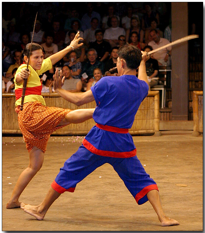 Thai Martial Arts - Krabi-Krabong, the sword fight
