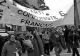 Parti communiste / Manif anti-fn à Strasbourg