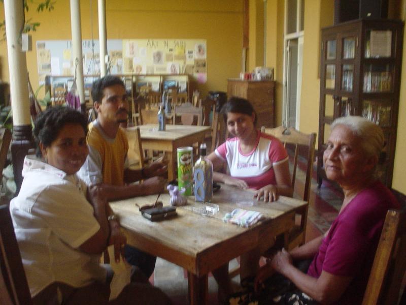 Nicaraguan friends