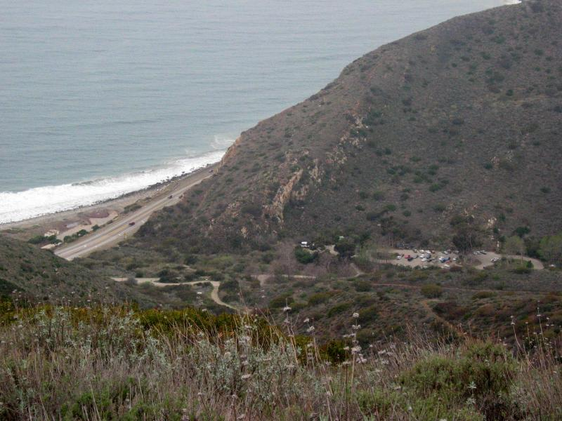 Start/Finish area from the Ray Miller Trail