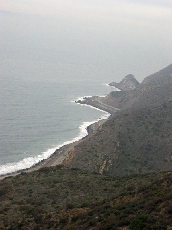 Ocean scene from the Ray Miller Trail