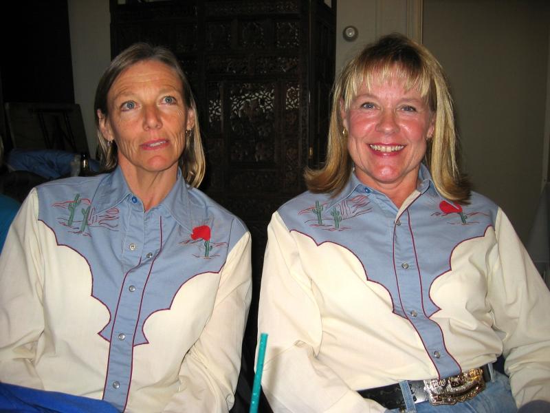 Cheri & Lynn<br>Happy Trails</br>