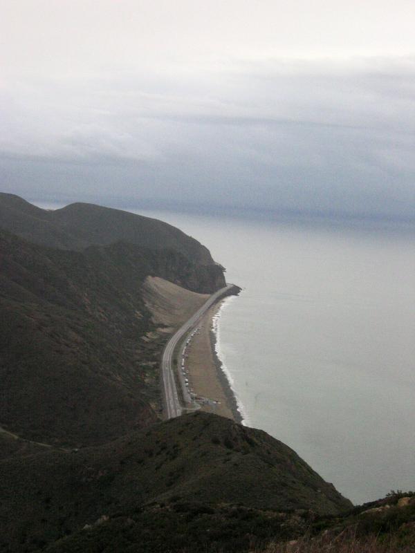 Ocean Scene from Mugu Peak trail