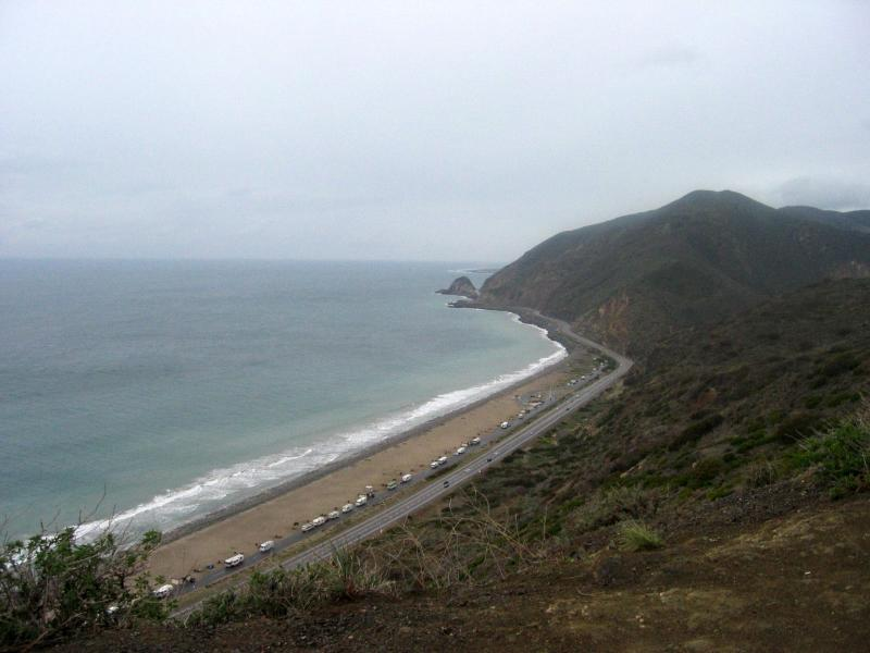 Pacific Coast Highway from Cardiac