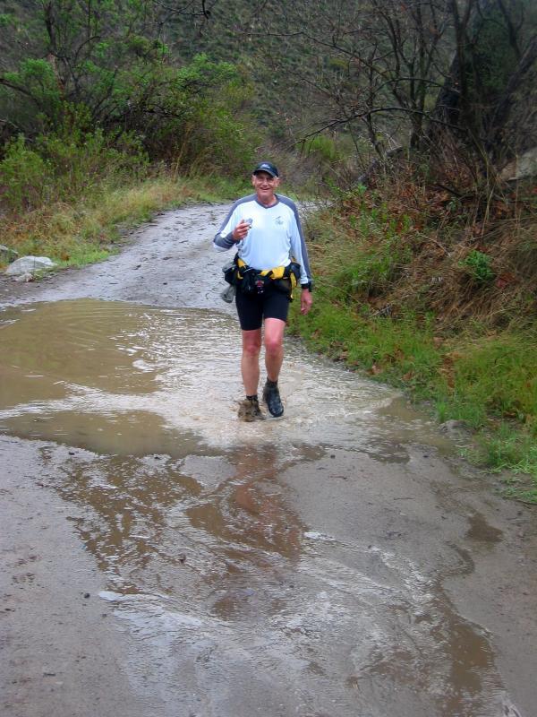 Bill VanAntwerp loves the puddles