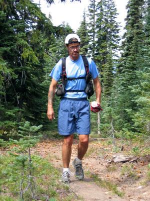 Tony back on the trail