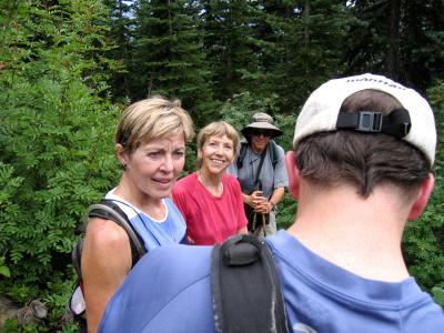 A chance encounter with Seattle PI writer Karen Sykes & friend