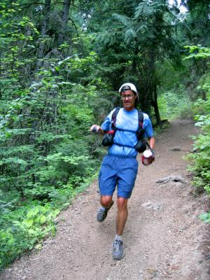 Tony at the end of the trail