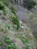 Climbing La Jolla Canyon