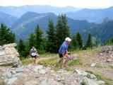 Charlie & Marlis reach the summit