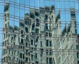 Astor Place Glass Tower Reflections