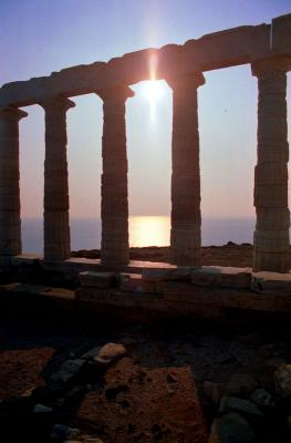 Sounion Temple of Poseidon, Greece