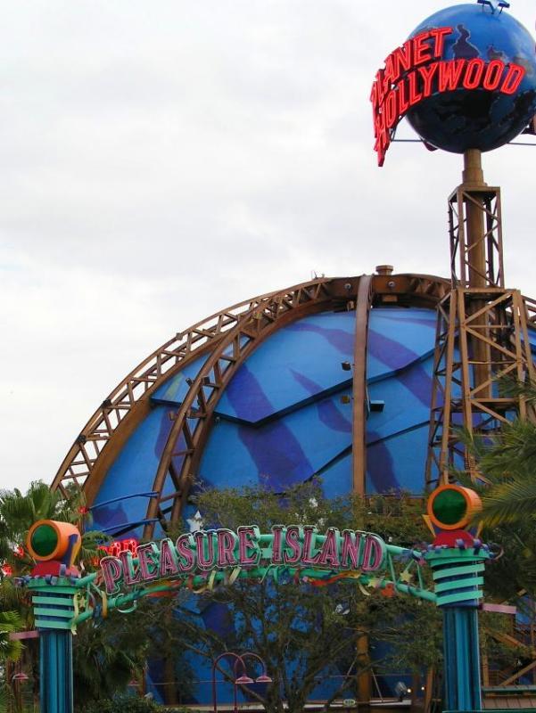Planet Hollywood - Pleasure Island
