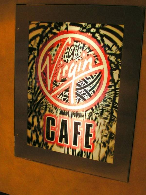 Virgin Cafe, Downtown Disney