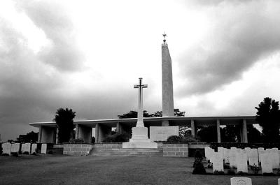 War Cemetery from West Wing II