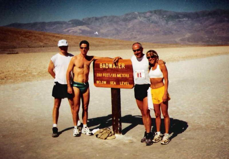 July 2002:  My first time at Badwater.  Little did I know Id be running the race just 2 years later.