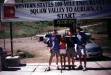 David, Nikki, and Rob the day before the 2003 Western States run